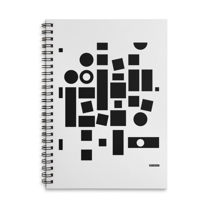 After Albers Positive Accessories Lined Spiral Notebook by DRAWMARK