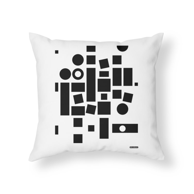 After Albers Positive Home Throw Pillow by DRAWMARK