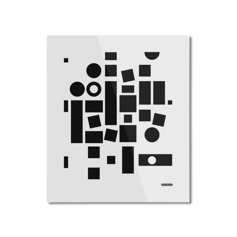 After Albers Positive Home Mounted Aluminum Print by DRAWMARK