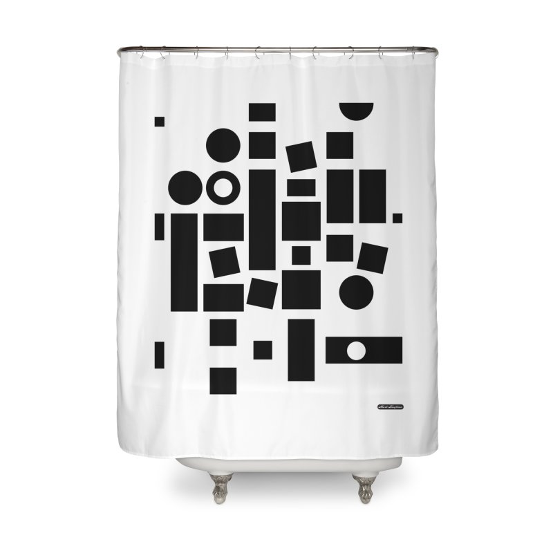 After Albers Positive Home Shower Curtain by DRAWMARK