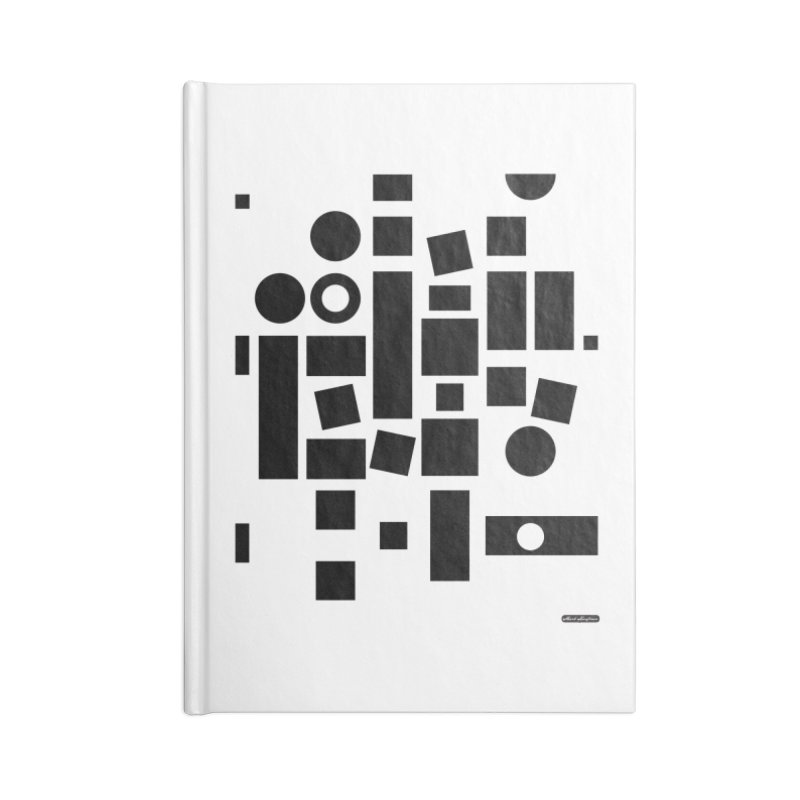 After Albers Positive Accessories Blank Journal Notebook by DRAWMARK
