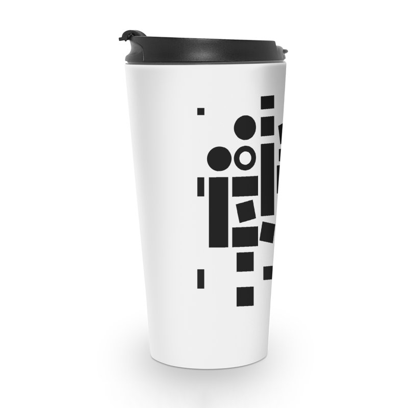 After Albers Positive Accessories Travel Mug by DRAWMARK