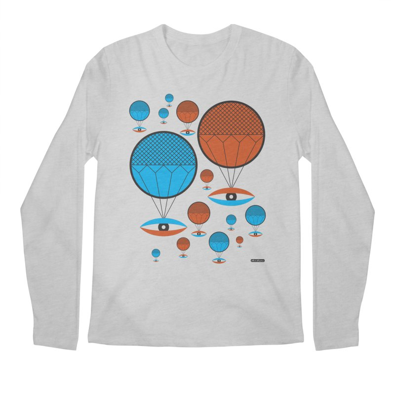 I See You Men's Longsleeve T-Shirt by DRAWMARK