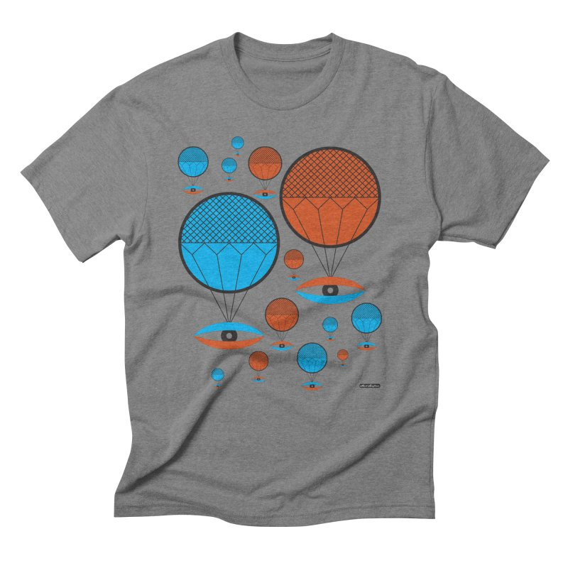 I See You Men's Triblend T-Shirt by DRAWMARK