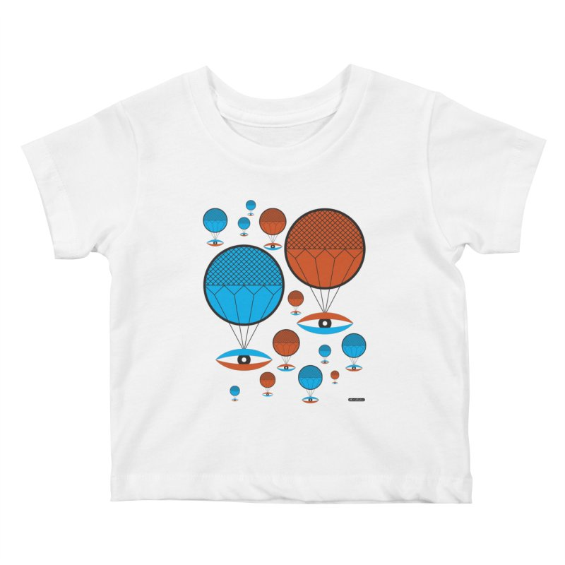 I See You Kids Baby T-Shirt by DRAWMARK