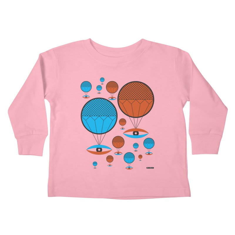 I See You Kids Toddler Longsleeve T-Shirt by DRAWMARK