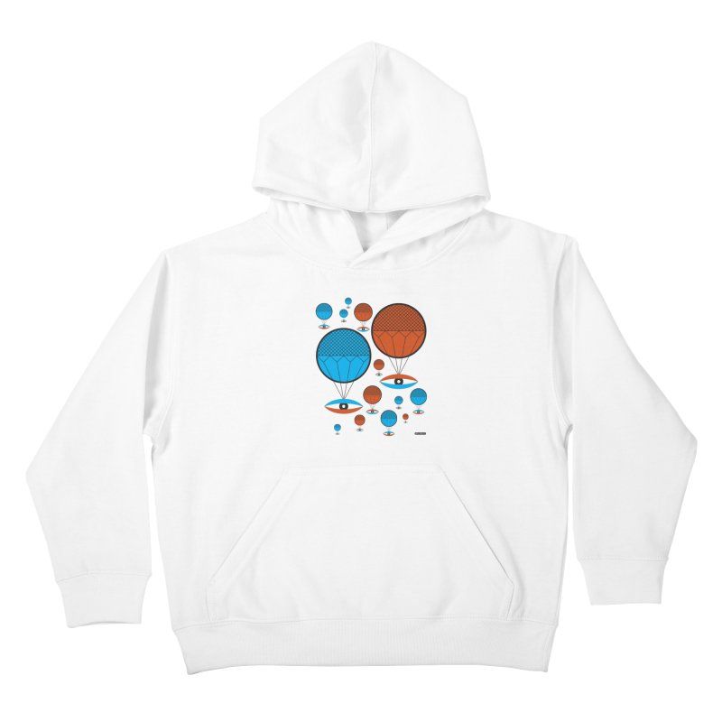 I See You Kids Pullover Hoody by DRAWMARK