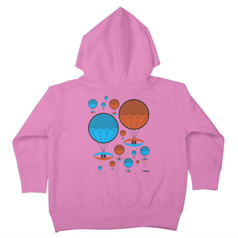 I See You Kids Toddler Zip-Up Hoody by DRAWMARK