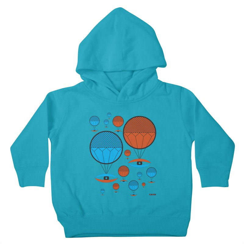 I See You Kids Toddler Pullover Hoody by DRAWMARK