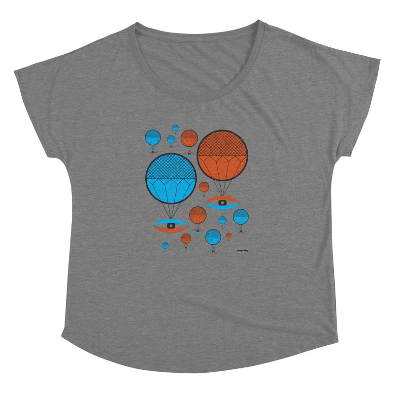 I See You Women's Dolman by DRAWMARK
