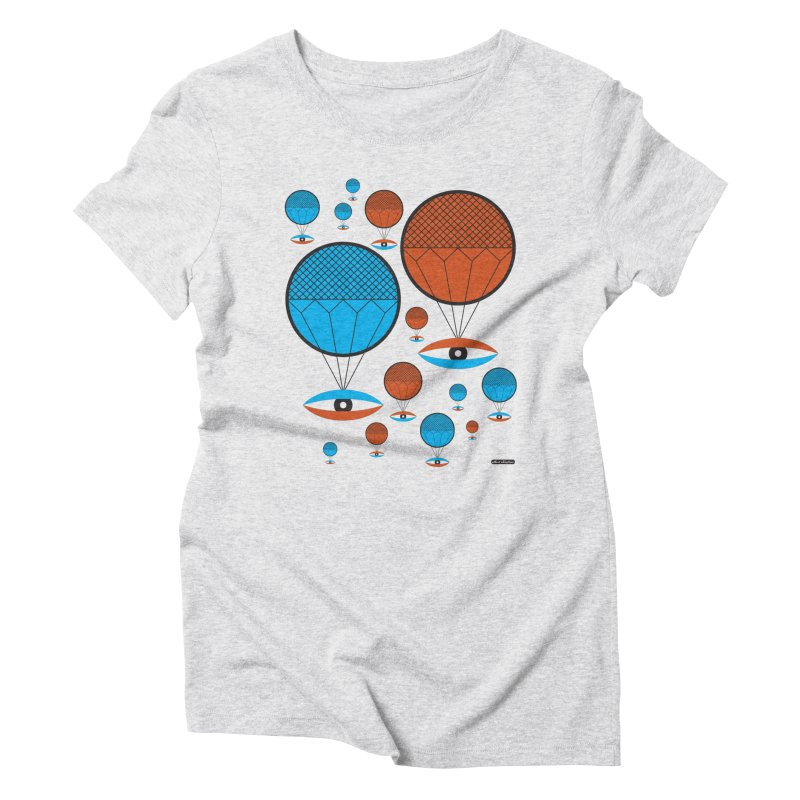 I See You Women's Triblend T-Shirt by DRAWMARK
