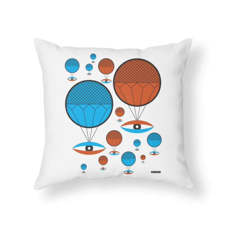 I See You Home Throw Pillow by DRAWMARK