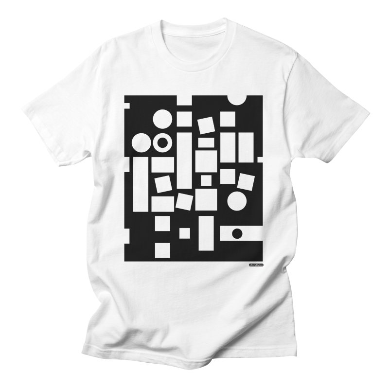 After Albers Negative Men's T-Shirt by DRAWMARK