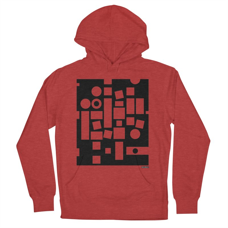 After Albers Negative Women's French Terry Pullover Hoody by DRAWMARK