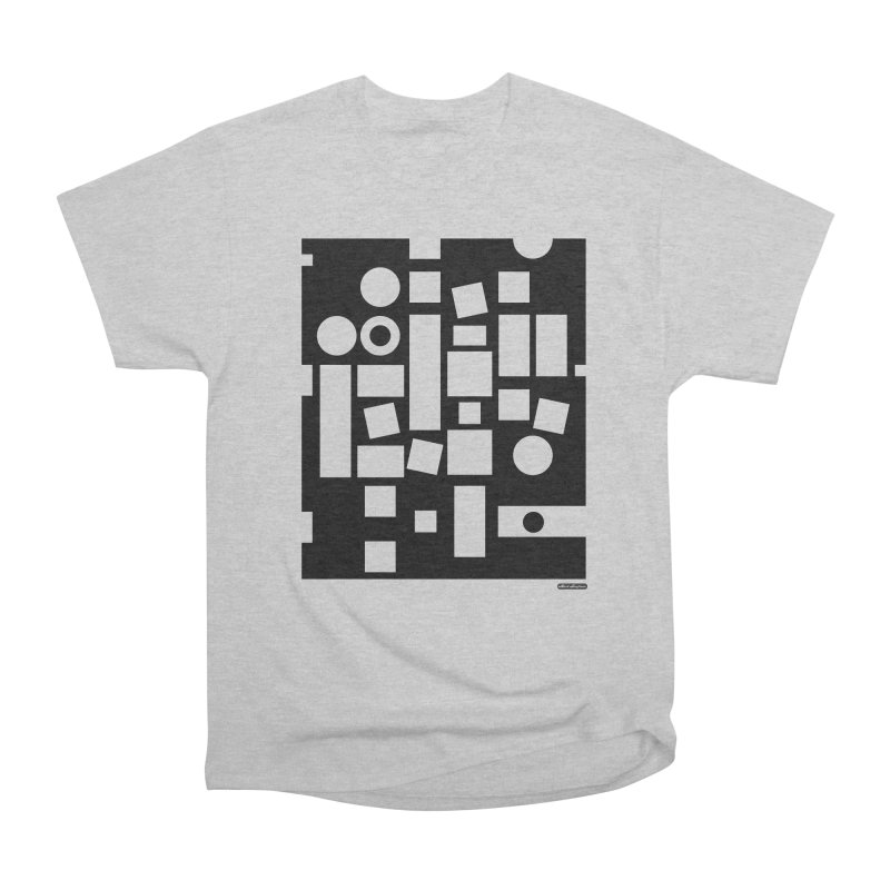 After Albers Negative Women's Heavyweight Unisex T-Shirt by DRAWMARK