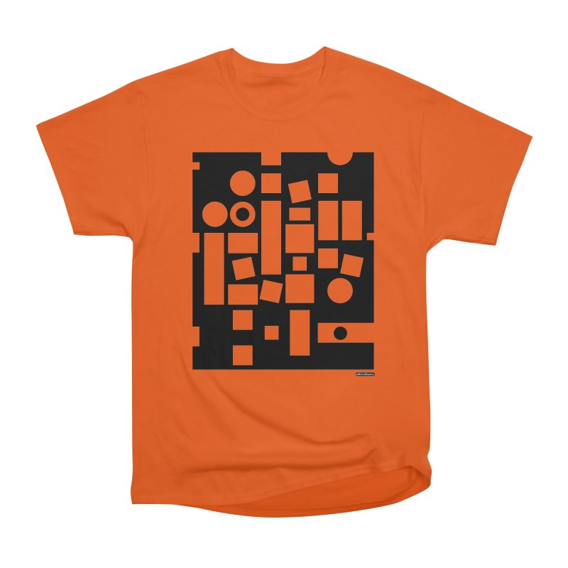After Albers Negative Men's Heavyweight T-Shirt by DRAWMARK