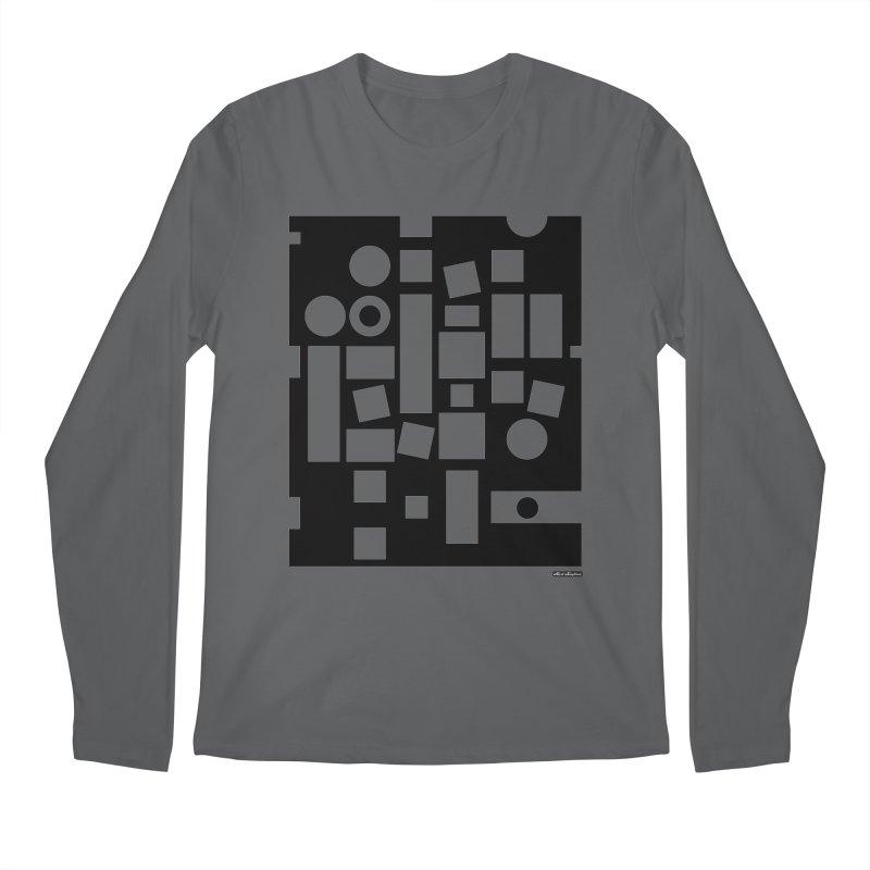 After Albers Negative Men's Regular Longsleeve T-Shirt by DRAWMARK