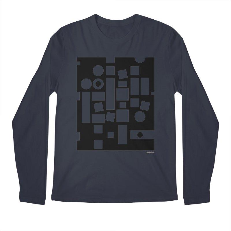 After Albers Negative Men's Longsleeve T-Shirt by DRAWMARK