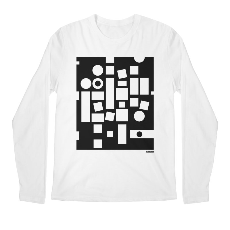 After Albers Negative Men's Regular Longsleeve T-Shirt by DRAWMARK
