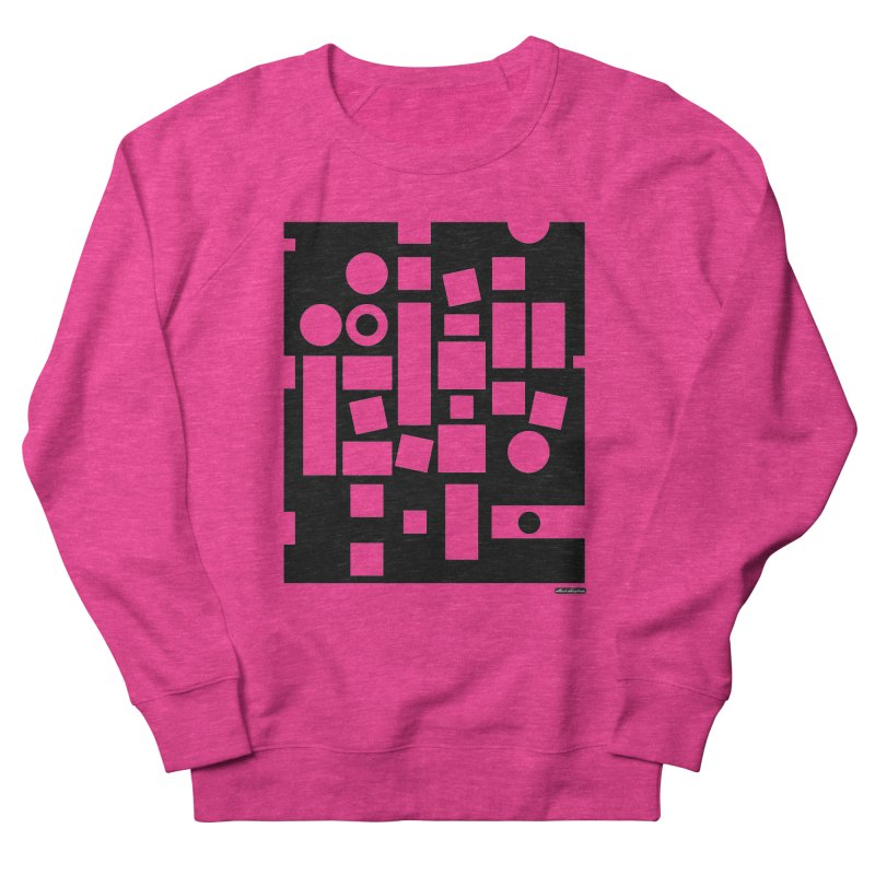 After Albers Negative Women's French Terry Sweatshirt by DRAWMARK