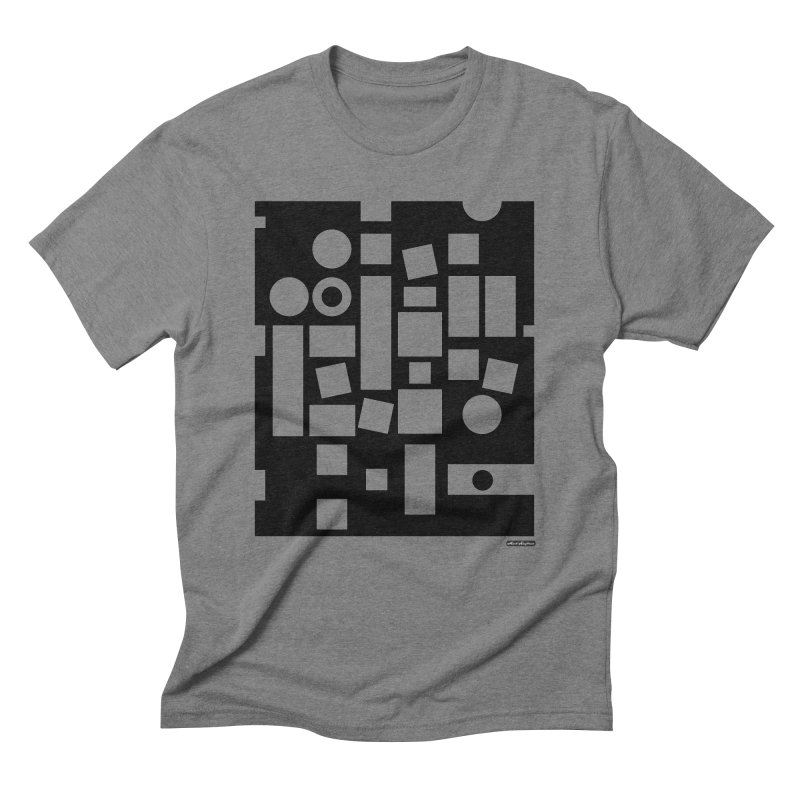 After Albers Negative Men's Triblend T-Shirt by DRAWMARK