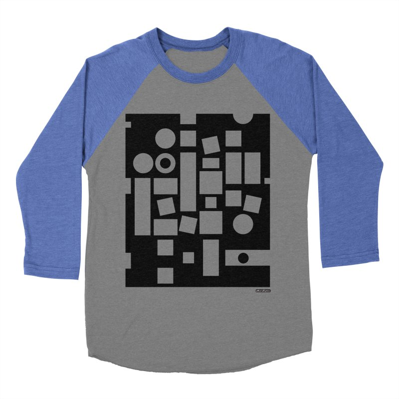 After Albers Negative Men's Baseball Triblend T-Shirt by DRAWMARK
