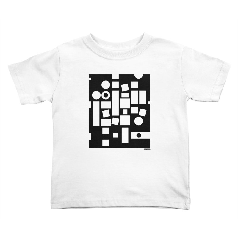 After Albers Negative Kids Toddler T-Shirt by DRAWMARK