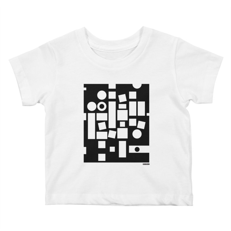 After Albers Negative Kids Baby T-Shirt by DRAWMARK