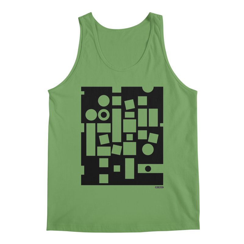 After Albers Negative Men's Tank by DRAWMARK