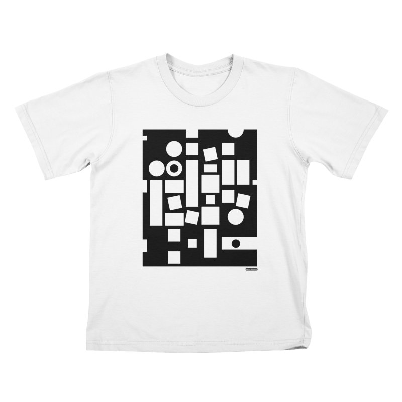 After Albers Negative Kids T-Shirt by DRAWMARK