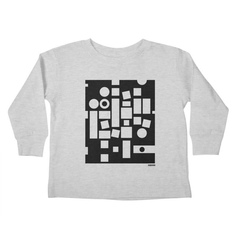 After Albers Negative Kids Toddler Longsleeve T-Shirt by DRAWMARK