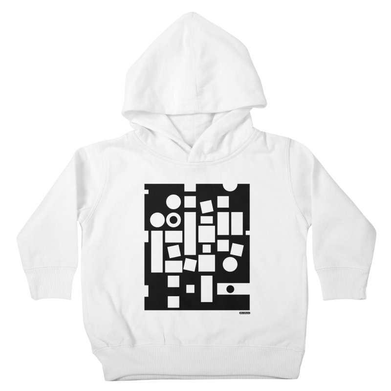 After Albers Negative Kids Toddler Pullover Hoody by DRAWMARK