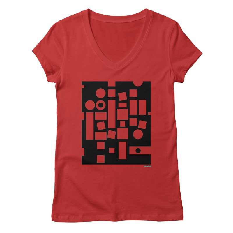 After Albers Negative Women's  by DRAWMARK