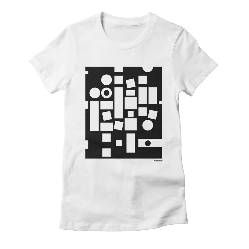 After Albers Negative Women's T-Shirt by DRAWMARK
