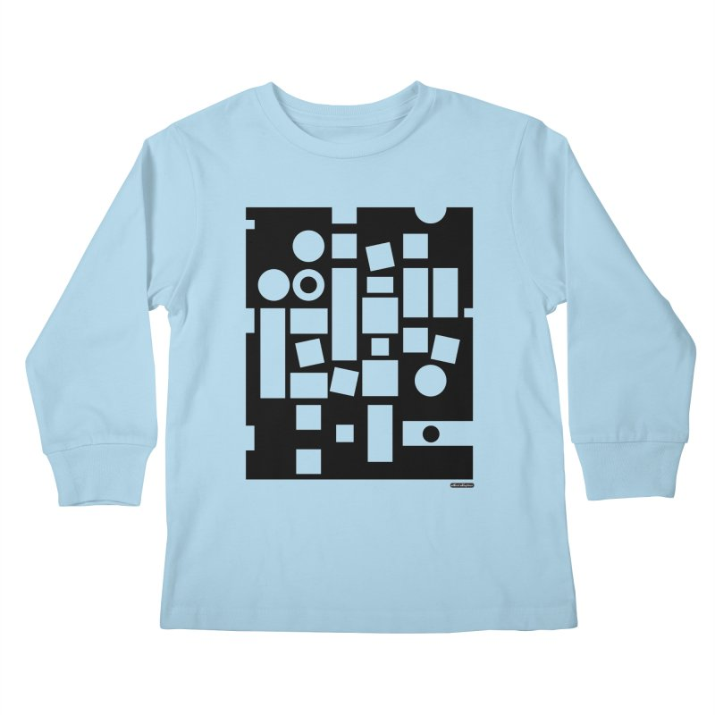 After Albers Negative Kids Longsleeve T-Shirt by DRAWMARK