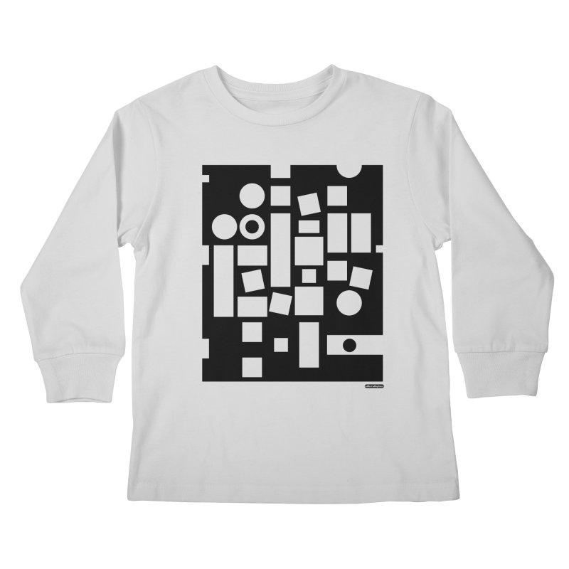 After Albers Negative Kids Longsleeve T-Shirt by DRAWMARK