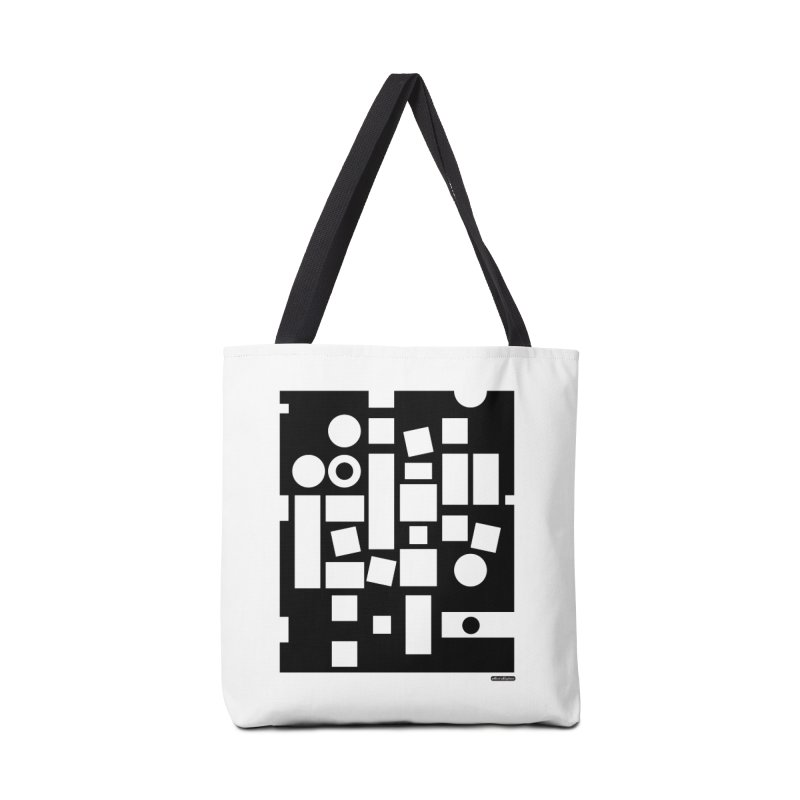 After Albers Negative Accessories Tote Bag Bag by DRAWMARK