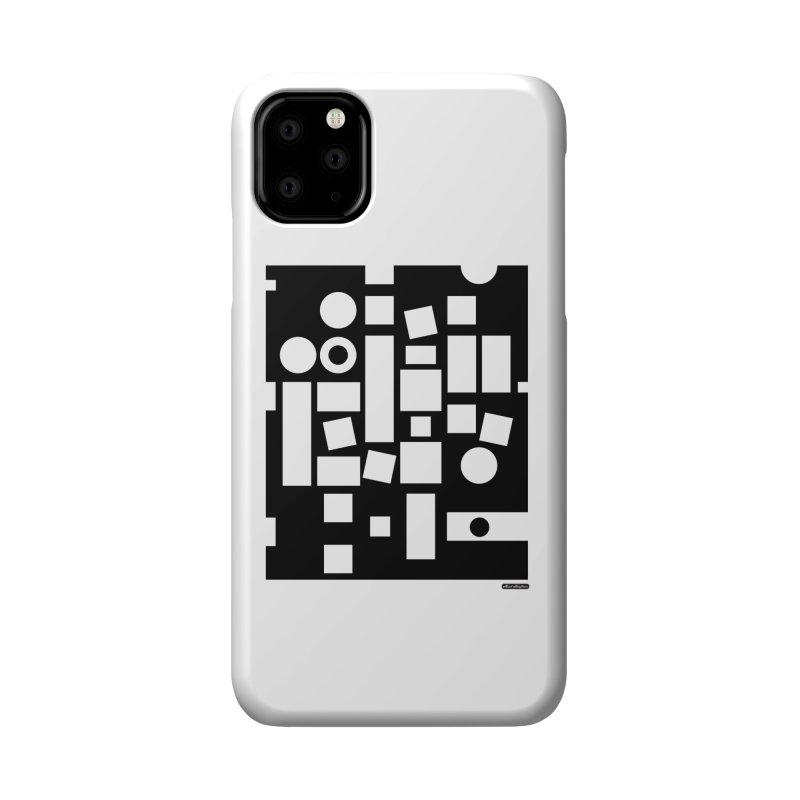After Albers Negative Accessories Phone Case by DRAWMARK