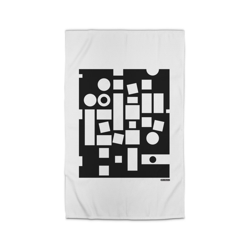 After Albers Negative Home Rug by DRAWMARK