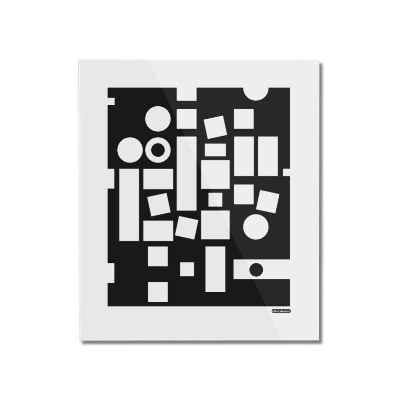 After Albers Negative Home Mounted Acrylic Print by DRAWMARK