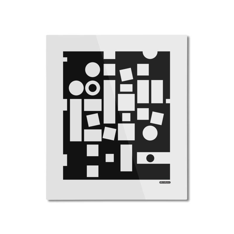 After Albers Negative Home Mounted Aluminum Print by DRAWMARK