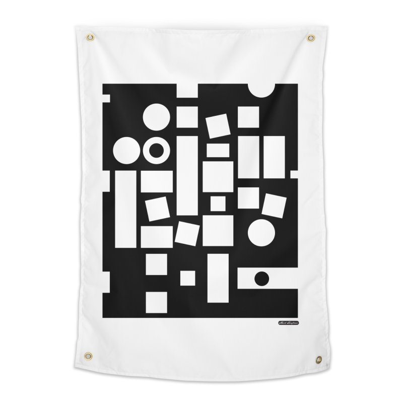 After Albers Negative Home Tapestry by DRAWMARK