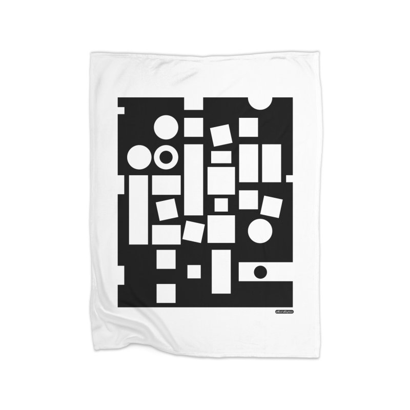 After Albers Negative Home Blanket by DRAWMARK