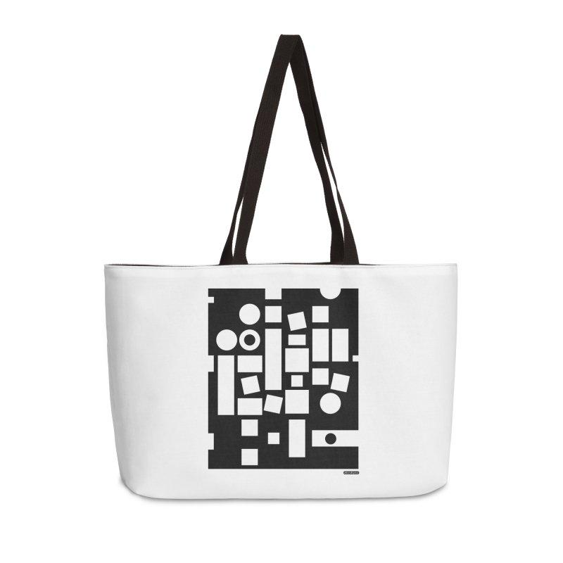 After Albers Negative Accessories Weekender Bag Bag by DRAWMARK