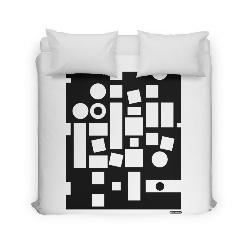After Albers Negative Home Duvet by DRAWMARK