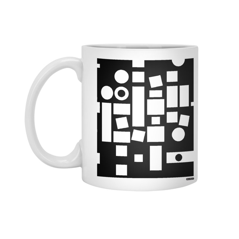 After Albers Negative Accessories Mug by DRAWMARK