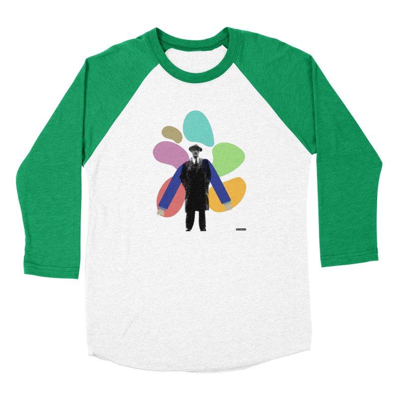 The Shape of Things Men's Baseball Triblend Longsleeve T-Shirt by DRAWMARK