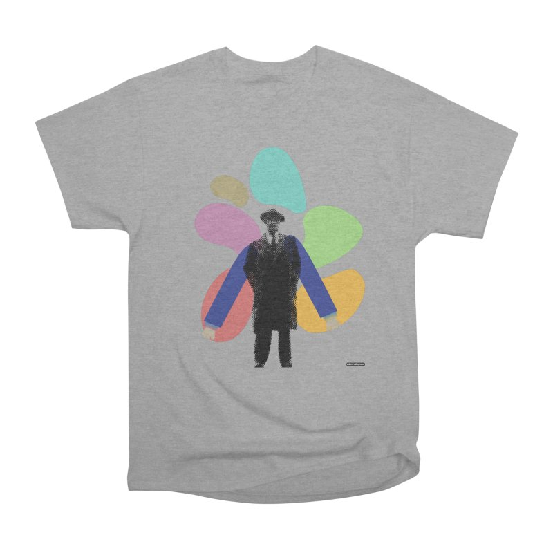 The Shape of Things Men's Heavyweight T-Shirt by DRAWMARK