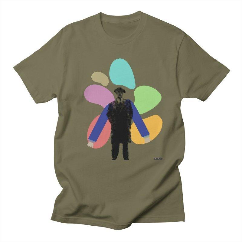 The Shape of Things Men's Regular T-Shirt by DRAWMARK