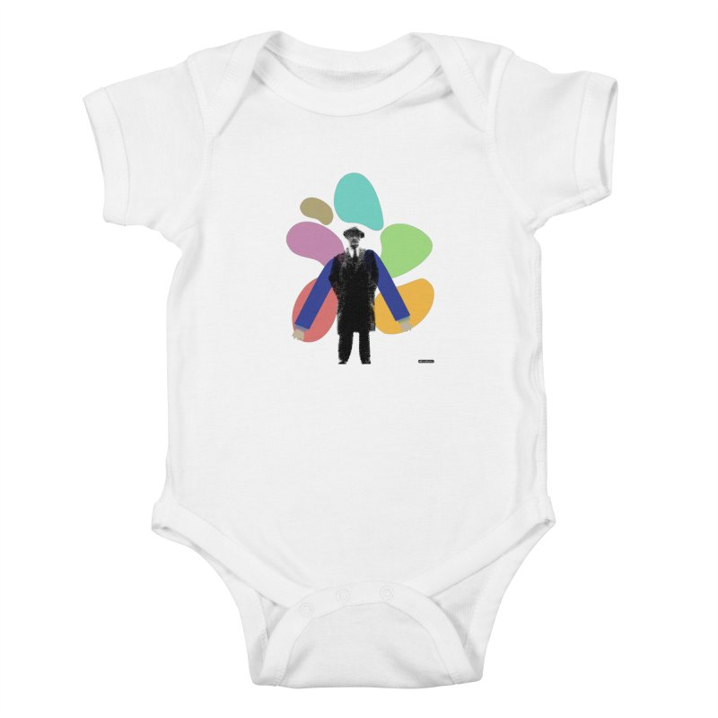 The Shape of Things Kids Baby Bodysuit by DRAWMARK